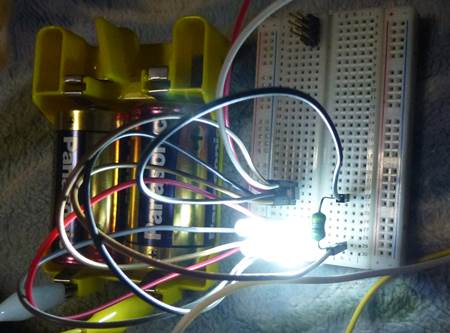 CL0118B 点灯テスト.JPG