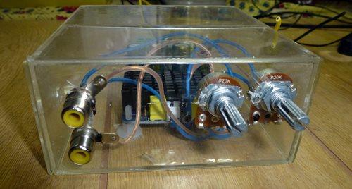 D級アンプでモニタースピーカー1.JPG