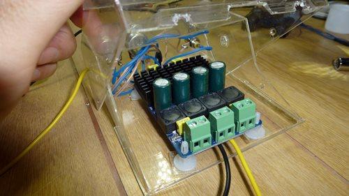 D級アンプでモニタースピーカー2.JPG