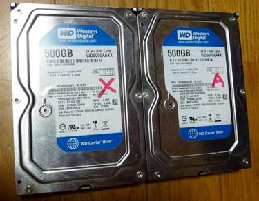 故障HDD基盤換装1.JPG
