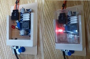 階段下収納 LED(昇圧モジュール).JPG