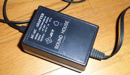 KORG D16 AC電源.JPG